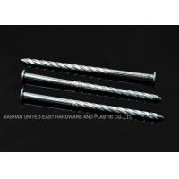"Best High Grip Galvanized Twisted Nails  2-1/2"" X BWG 10 Low Carbon Steel Rust Proof wholesale"