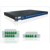 "Buy cheap Rack Mount 19"" 1 * 32 Fiber Optic PLC Splitter , Planar Lightwave Circuit Splitter product"