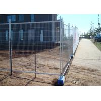 Best 32mm round tubing wall thick 1.5mm construction fence 2.1m height x 2.4m width mesh 60mm*150mm*3.5mm diameter wholesale
