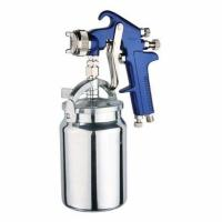 China PRO Suction Feed Type High Pressure Paint Gun 1000ml Aluminum Cup S.S Nozzle 1/43/8inlet on sale