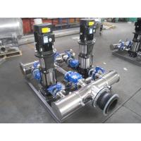 China Energy Saving Water Supply Equipment Stainless Steel Booster Pump on sale