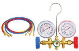 Best Auto AC Tool 536A refrigerant Gauge  Pipe pressure 600PSI-3000PSI without quick connector wholesale