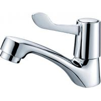 Cheap H59 brass Single Lever Mixer Taps saving water Polished chrome plated for sale