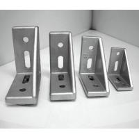 Buy cheap Metal Right Angle T Slot Aluminum Plastic Cap 30x60 T Slot Corner Bracket from wholesalers