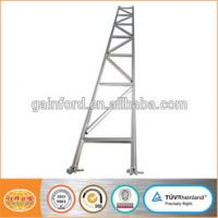 China Strong Scaffold Ladder Beam Capacity Galvanized SGS Certificate Ringlock System For Sale Aluminium Scaffold Tower on sale
