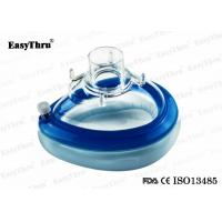 Best Silicone Medical Respirator Mask Transparent Anesthesia Face Masks Non - Toxic wholesale