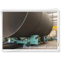 Buy cheap 1000t Hydraulic Jacking Welding Rotator W/t Move Trolley for Offshore Windmill from wholesalers