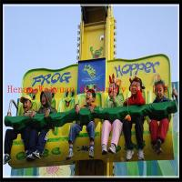 China export thrill rides sky drop frog jumping amusement rides manufacturer on sale