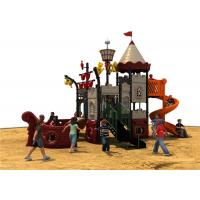 China Kids Backyard Play Equipment With Color Animals , Outdoor Park Equipment on sale