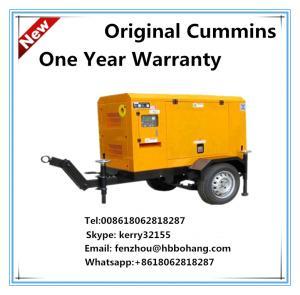 Best 40KVA trailer generator set powered by Cummins diesel engine with Stamford alternator wholesale