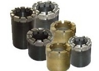 China Drilling Casing Shoes OD 37.6mm PCD Diamond Core Bit on sale