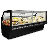 China Refrigeration Butcher Chicken Deli Display Refrigerator For Fresh Meat on sale