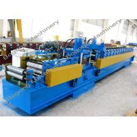 Best Pre - Punching C Purlin Roll Forming Machine With Cr12 Steel Blade Heavy Duty wholesale
