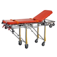 China Automatic Loading 190cm 40Kg Separable Ambulance Stretcher on sale