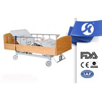 China Wooden Nursing Home Furniture Electric Hospital Bed with Foot Board on sale