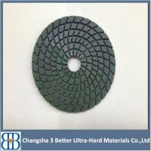 China dry concrete floor diamond polishing pad on sale