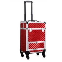 Best Large Capacity Makeup Train Case With 4 Retractable Trays & 1 Smooth Sliding wholesale