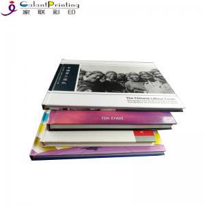 Best Custom  Magazine Printing Services / Hardbound Book Printing Perfect Binding wholesale