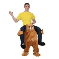 Best Holiday / Carnival Animal Mascot Costumes Bear Carrying Man Costume wholesale