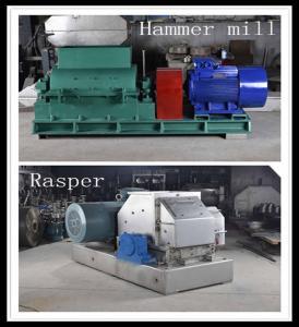 Best Cassava Garri Processing Machine Hammer Mill Crushing 55kw High Power wholesale