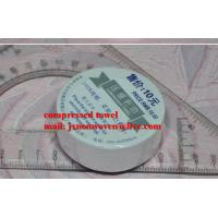 China Spunlace Nonwoven Compressed Towels on sale