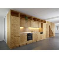 Best Custom cabinets for Built-in Kitchen with Storage case by Plywood board for wall panels by lift stand Desk table shelf wholesale