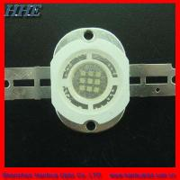China Super Brightness 10w high power blue LED diode 460nm - 470nm 1050mA 120 viewing angle on sale