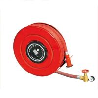 China 30m Synthetic Rubber Manual Fire Hose Reel fire fighting equipments on sale