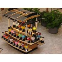 China Custom made Retail kiosk and many decoration products display kiosk on sale