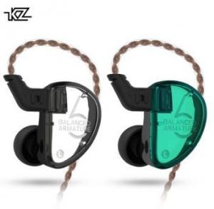 China Black / Cyan Balanced Armature Headphones , 120cm Line Noise Reduction Headphones on sale