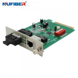 Best TX To FX SC Fiber Media Converter , Fast Ethernet Media Converter wholesale
