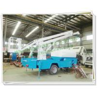 Buy cheap Truck Mounted 16m Aerial Work Platforms woith Water tanker High Performance from wholesalers