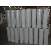China White / Blue / Natural Color RO Membrane Housing For Water Purification Systems on sale