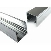 China T5 Arch Aluminum Window Profiles , Glass Door Metal Frame Aluminum Profile on sale