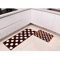 China Square Anti-slip Washable Home Microfiber Kitchen Mats of tufting process on sale
