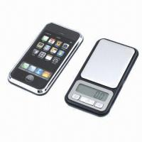 China High-precision Pocket Scale with ABS Plastic Body and Stainless Steel Plate on sale