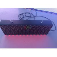 China Pure Red LED Moving Message Sign / Text scrolling led display DIP546 on sale