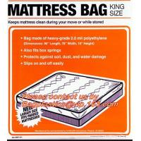 China Mattress Bags Chair Sofa Cover Dust Cover Sheet , Mattress Storage Disposable Bags on sale