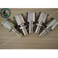 Best Single Johnson Screens Products Water Filter Nozzle High Filtering Performance wholesale