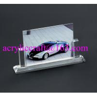 Best Wholesale handmade glass souvenir photo picture frames clear acrylic photo stand wholesale