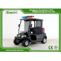 Best Black 48v 2 Seater Trojan Battery Electric Golf Car With Extinguisher Fire Truck wholesale