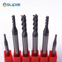 China Solid Carbide Tapered End Mills , CNC End Mills For Wood ODM Service on sale