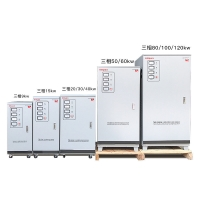 China Three Phase 380V 415V 9kw 120kw Automatic Voltage Stabilizer Pure Copper Coil on sale