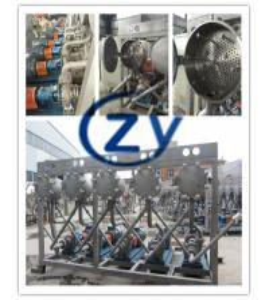 Best Slivery whiteCassava  starch washing machinery   SS304 Multicyclone wholesale