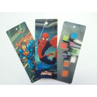 Best PET 3D Lenticular Personalized Book Marks With CMYK Printing 0.65 mm Thick wholesale