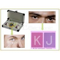 UV Spy Invisible Playing Cards Contact Lenses Poker Reader For Cheating Poker Games