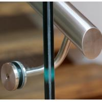 China Stylish clear PVB/SGP laminated glass Balustrades for communal stairs in luxury apartments on sale