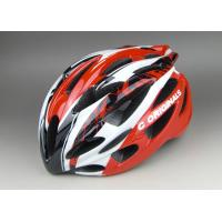 Super Cool  PC Inmould Bicycle Helmet Cycling Red Black , Matt Or Shinny Finishing Available