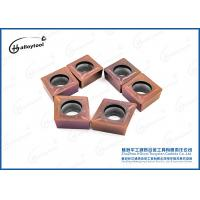 China CNC Tools Tungsten Carbide Turning Inserts CCMT120408 For Lathe Machine on sale