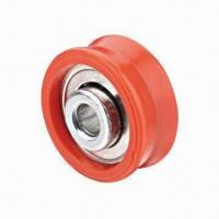 Best Plastic window and door bearing roller wheel for OEM, powder-coated surface wholesale